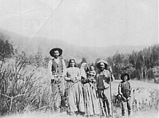 Mora Area Farmer and Family cicra 1898